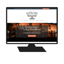 Website Project for Bishop Farm Events